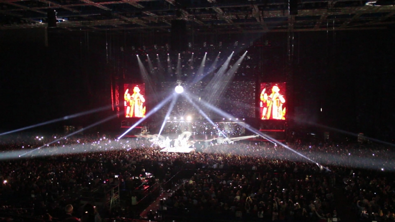 SCORPIONS SEND ME AN AGEL Moscow 01 11 17