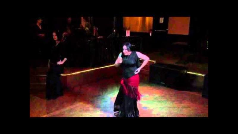 Olvidate de Mi Spanish Bellydance Fusion by Roshana Nofret and Najmah Nour Improv Duet