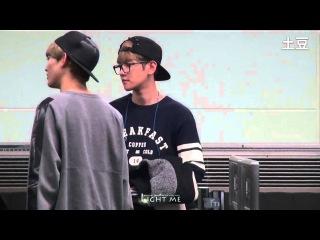 [Fancam] 131025 Haneda Airport - Baekhyun