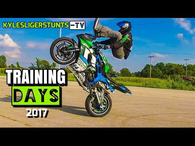 STUNT RIDING is COOL TRAINING DAYS with Kyle Sliger Stunts
