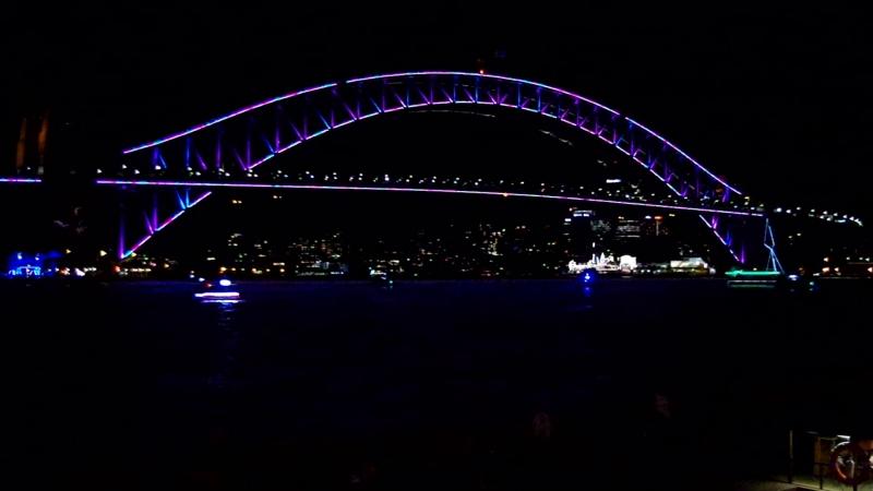 Световое Шоу в Сиднее ВИВИД