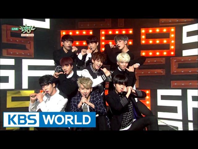 SF9 - K.O. / Fanfare (팡파레) [Music Bank Hot Debut / 2016.10.07]