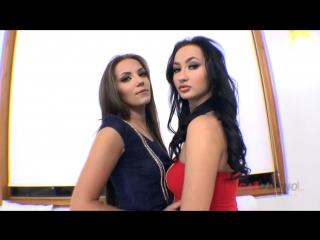Maria devine & lara onyx (interracial anal threesome)[a2m, asslicking, rimming, anal, interracial, toys, gape, 720p]