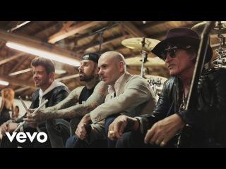Pitbull - Bad Man (Official Video) ft. Robin Thicke, Joe Perry, Travis Barker