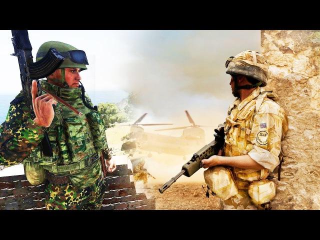 ARMA 3 Тушино.175 человек. Аналитика боя. Бой на Алтисе. НАТО vs Россия