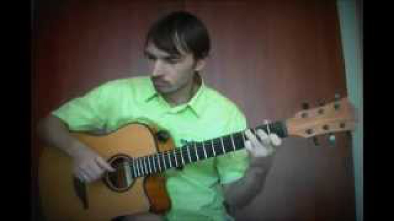 Falling OST Twin Peaks fingerstyle guitar cover