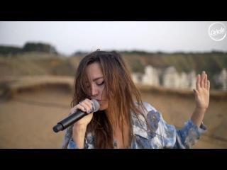 Rodriguez Jr. feat Liset Alea live Falaises d'Etretat in France for Cercle