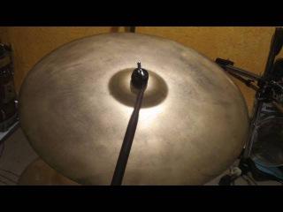 "Zildjian EARTH RIDE 22"" 90's Jorge Anielo"