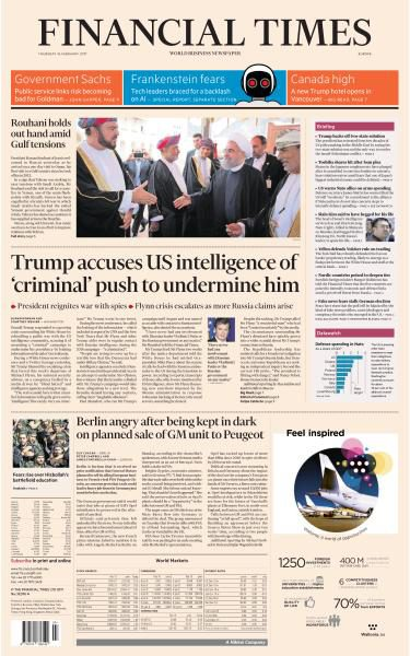 Financial Times Europe 16 February 2017 FreeMags