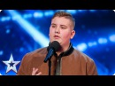 Golden Buzzer act Kyle Tomlinson proves David wrong Auditions Week 6 Britain's Got Talent 2017
