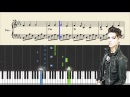 Andy Black - We Don't Have To Dance - Piano Tutorial Sheets