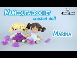 Cómo tejer tu propia muñeca de ganchillo - Marina + ¡SORTEO! 🎉
