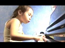 Аида Филиппова 6 лет играет Тарантеллу Прокофьева
