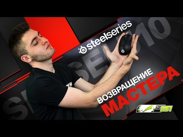 Обзор SteelSeries Sensei 310 SteelSeries QCK PRISM