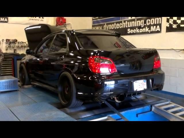 Blobeye Subaru STi at Dynotech Tuning