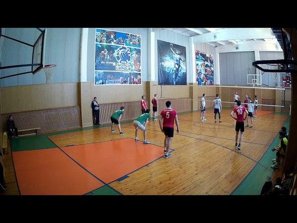 Первенство ЛО по волейболу, группа Б, Сертолово - Приморск 30, 1 партия. 07,04,2018