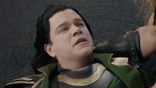 Thor Ragnarok / Loki Death Play Scene (Matt Damon Cameo)