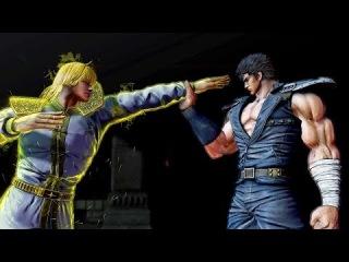 Hokuto Ga Gotoku Demo - Long Battle + Shin Boss Battle (60 FPS)