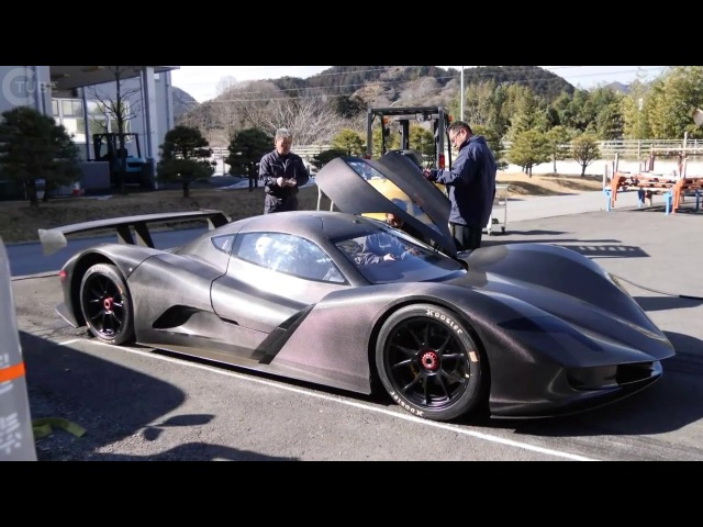 CRAZY FAST Japanese ASPARK OWL ELECTRIC HYPERCAR DOES 0 60MPH IN 1 9 SECONDS