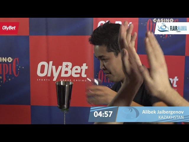 Alibek Jaibergenov Final OlyBet Flair Mania 2018