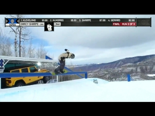 Darcy Sharpe wins Men's Snowboard Slopestyle silver _ X Games Aspen 2018