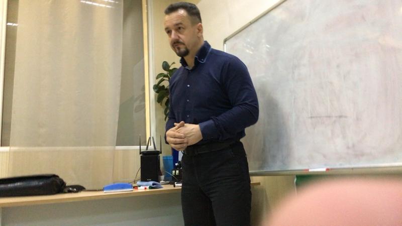 Мастер класс Игоря Горюшинского
