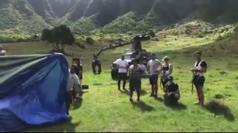Video filming Jurrasic World 2 from Hawaii by Anthony Pernicka
