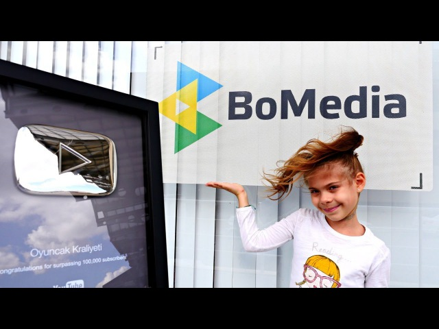 Элис показывает где и как снимают видео для детей