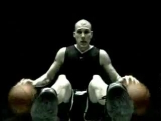 Реклама найк!баскетбол!