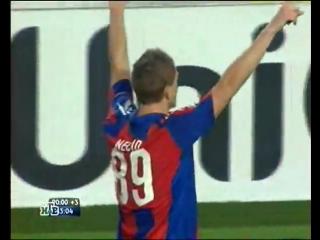 """""""Севилья"""" - ЦСКА 1:2. 2009/10. Лига чемпионов. 1/8 финала."""