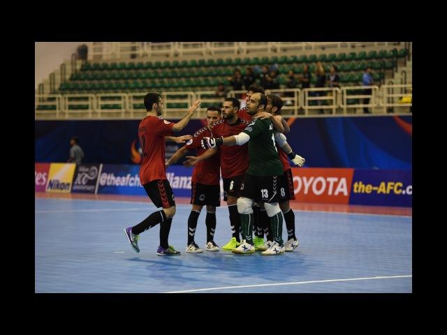 Al Rayyan vs Vamos FC (AFC Futsal Club Championship 2017 – Group Stage)