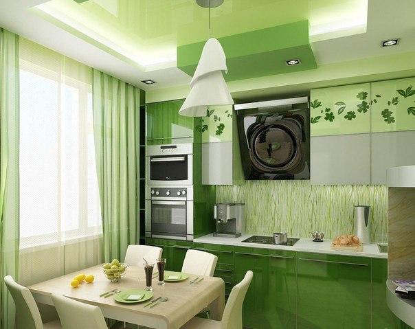 Невероятный цвет и кухня ????????
