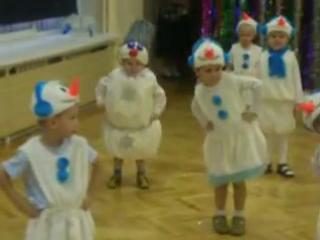 Когда на утреннике в детском саду все дети, как дети, а твой  Весёлый снеговик