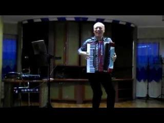 Цыганочка - Николай Донецкий (аккордеонист) на теплоходе для туристов.