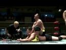 Kazumi Kikuta, Takuho Kato vs. Yuki Morihiro, Takuya Nomura (BJW - Korakuen Hall - 25.01.2018)