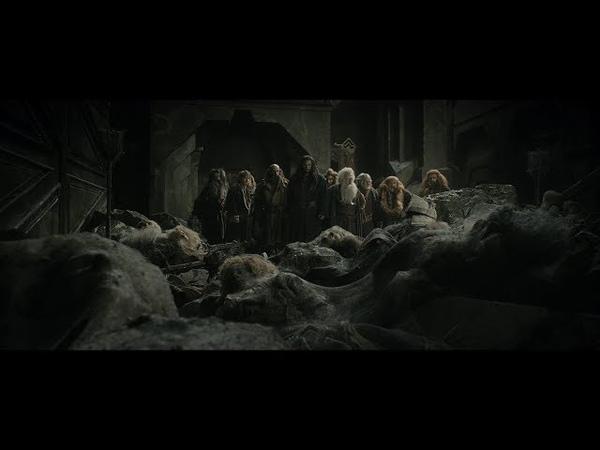 Гномы пытаются найти выход из Эребора Кили и Тауриэль Торин предлагает сразится с драконом HD