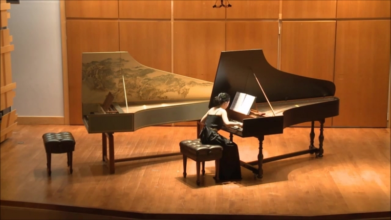 812 J. S. Bach - French Suite No. 1 in D minor, BWV 812 - Hambyeol Lee, harpsichord