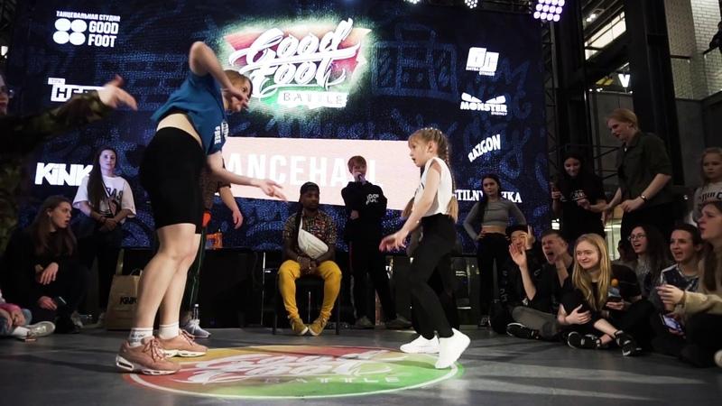 Беляева Ксюша vs Speedy TOP7 DANCEHALL GOOD FOOT BATTLE 2019