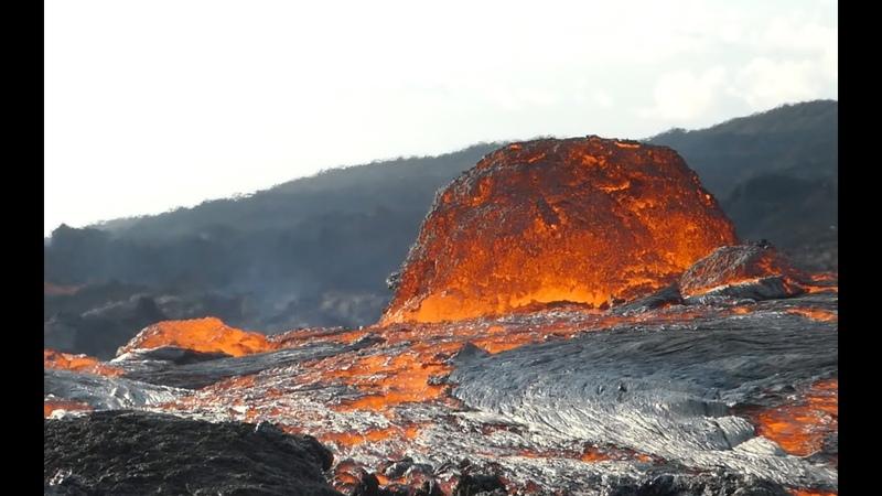 Piton de la Fournaise Eruption du 19 fevrier 2019