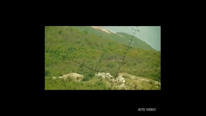 SAA's 4th Armoured Division takes out a sniper position for TIP HTS militants on Kabani hills on Latakia - Idlib axis. 18 may 20