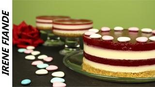 Домашний Чизкейк без выпечки ко дню святого Валентина. Вы такого ещё не ели!