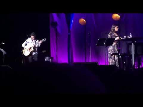 Darren Criss Lea Michele - Falling Slowly (Once) - LMDC Tour - Manchester 5/12/18