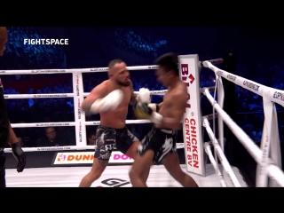 HIGHLIGHTS: Петчпаномрунг КИТМУКАО  Робин Ван РУСМАЛЕН | Чемпионский бой GLORY 59