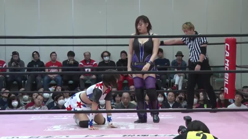 YUMI vs Yuna Manase TJPW Tokyo Joshi 2019 Winter ~ High Score ~