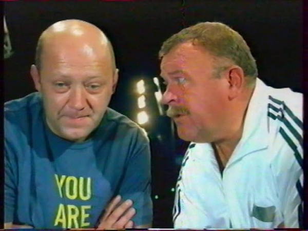 Рекламный блок и анонс Граф крестовский НТВ Беларусь октябрь 2004 1