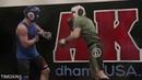 KHABIB NURMAGOMEDOV SPARRING HIS BEST FRIEND ISLAM MAKHACHEV UFC MMA