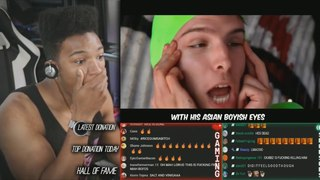 Etika React To Asian Jake Paul -『feat. Boyinaband』  RiceGum Diss Track