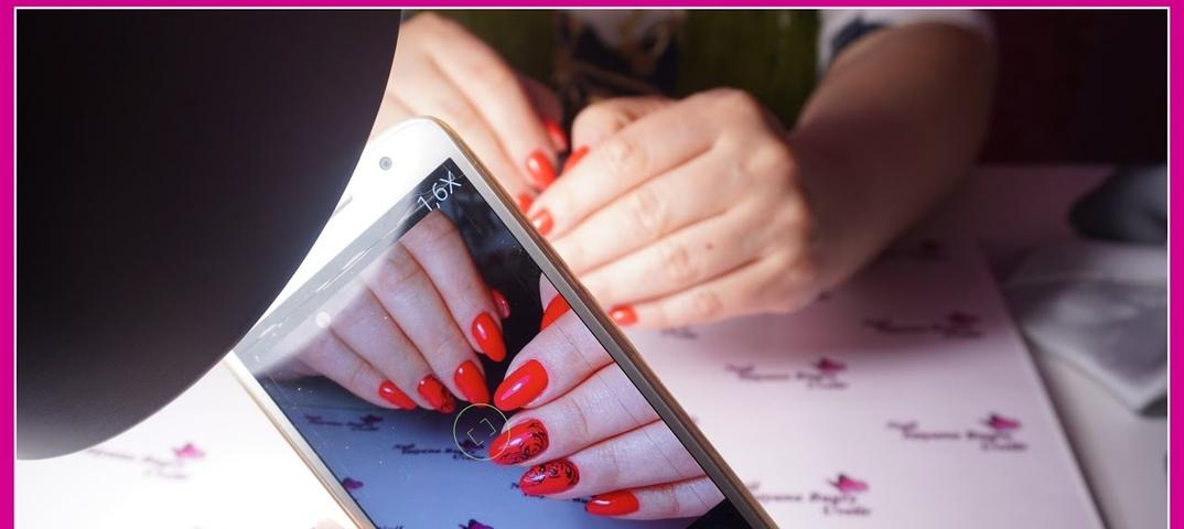 Как правильно фотографировать ногти на зеркалку