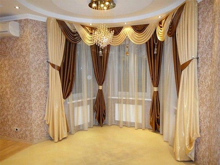 Потолочные шторы в зал — советы и рекомендации по выбору, изображение №14