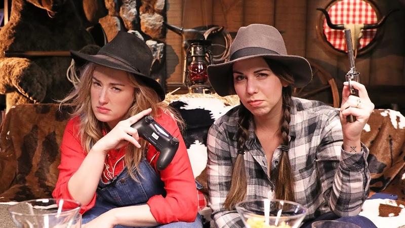 Laura Bailey's Yee Haw Game Ranch Saints Row IV
